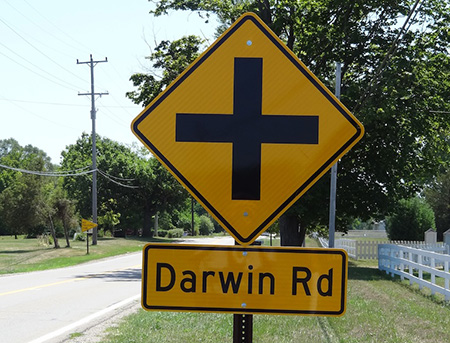 Darwin Road Leads to Hell in Michigan