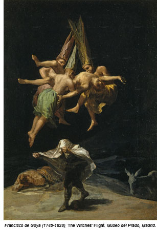 goya Witches' Flight