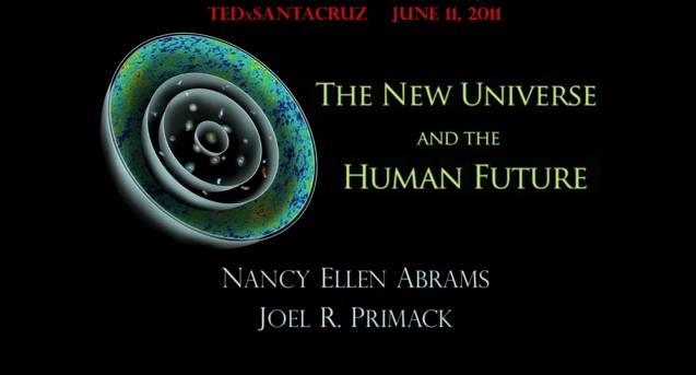 Nancy Abrams and Joel Primack at TEDxSantaCruz