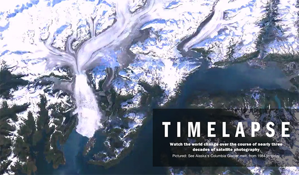 Timelapse: Landset Satellite Images