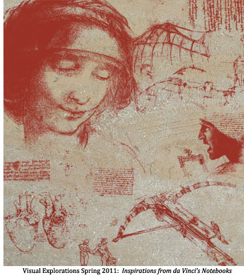 Inspirations from da Vinci's Notebooks