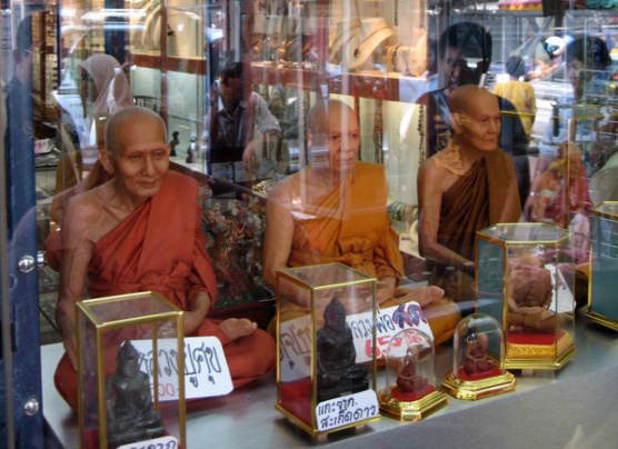 Plastic Monks Reflecting on Pratitya-Samutpada
